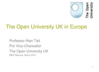 The Open University UK in Europe
