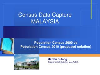 Census Data Capture MALAYSIA