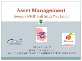 Asset Management Georgia NIGP Fall 2012 Workshop