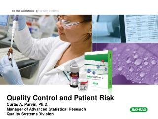 Laboratory QC and Patient Risk