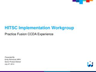 HITSC Implementation Workgroup