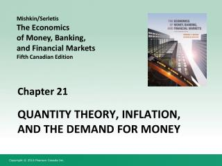 Quantity Theory, Inflation, and the Demand for Money