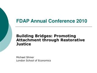 FDAP Annual Conference 2010