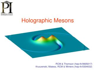 Holographic Mesons