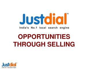 OPPORTUNITIES THROUGH SELLING