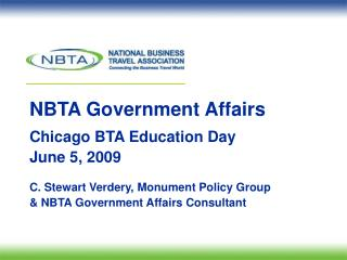 NBTA Government Affairs