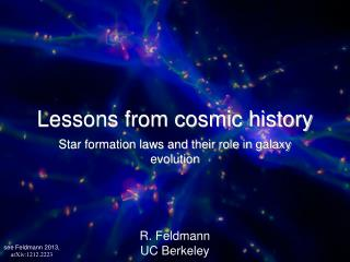 Lessons from cosmic history