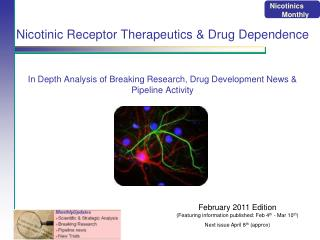 Nicotinic Receptor Therapeutics & Drug Dependence