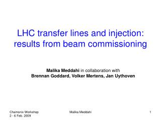 LHC transfer lines and injection: results from beam commissioning
