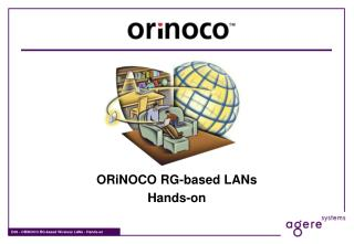 ORiNOCO RG-based LANs Hands-on