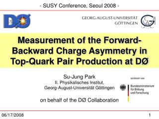 Measurement of the Forward-Backward Charge Asymmetry in Top-Quark Pair Production at DØ