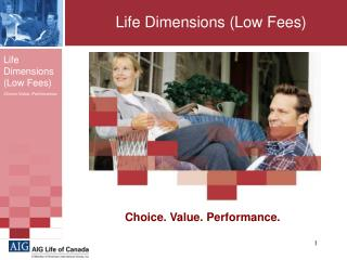 Life Dimensions (Low Fees)