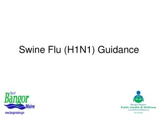 Swine Flu (H1N1) Guidance