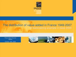 The distribution of value-added in France 1949-2007
