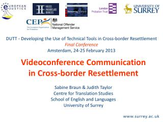 Videoconference Communication in Cross-border Resettlement