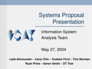 Systems Proposal Presentation
