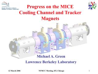 Progress on the MICE Cooling Channel and Tracker Magnets