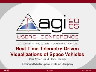 Real-Time Telemetry-Driven Visualizations of Space Vehicles