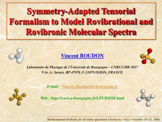 Symmetry-Adapted Tensorial Formalism to Model Rovibrational and Rovibronic Molecular Spectra