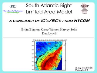 South Atlantic Bight  Limited Area Model