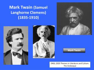 mark twain themes in literature