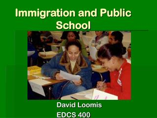 Immigration and Public School