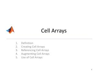 Cell Arrays