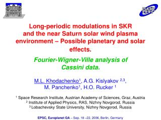 Long-periodic modulations in SKR