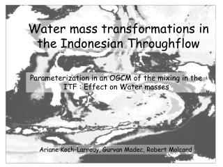 Water mass transformations in the Indonesian Throughflow