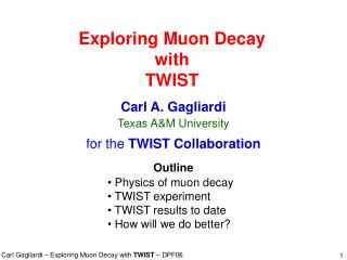 Exploring Muon Decay with TWIST