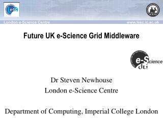 Future UK e-Science Grid Middleware