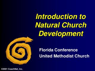 Introduction to Natural Church Development