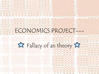 ECONOMICS PROJECT---