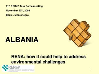 RENA: how it could help to address environmental challenges