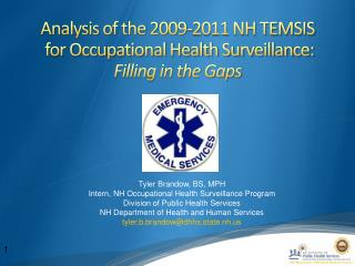 Analysis of the 2009-2011 NH TEMSIS  for Occupational Health Surveillance:  Filling in the Gaps