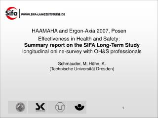 HAAMAHA and Ergon-Axia 2007, Posen