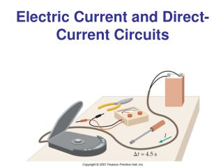 Electric Current and Direct-Current Circuits