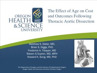 The Effect of Age on Cost and Outcomes Following Thoracic Aortic Dissection