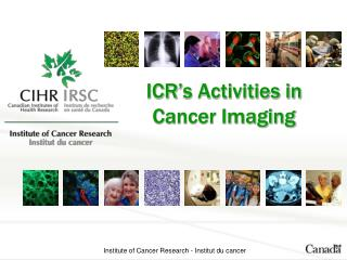 ICR's Activities in  Cancer Imaging