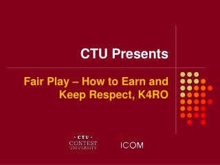CTU Presents