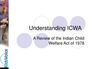 Understanding ICWA