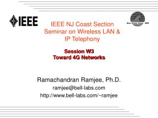 Session W3 Toward 4G Networks