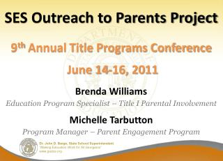 SES Outreach to Parents Project