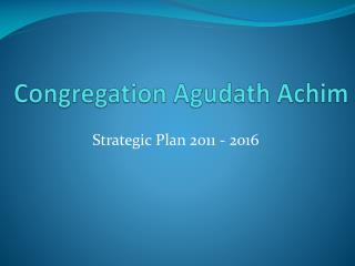 Congregation Agudath Achim