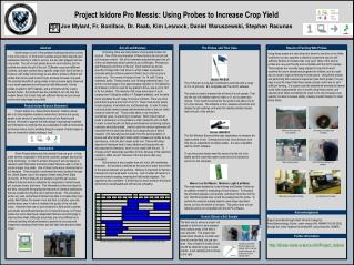 Project Isidore Pro Messis: Using Probes to Increase Crop Yield