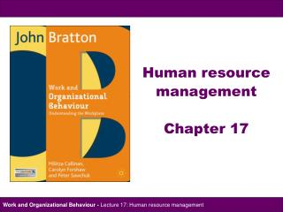 Human resource  management Chapter 17