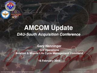 AMCOM Update DAU-South Acquisition Conference