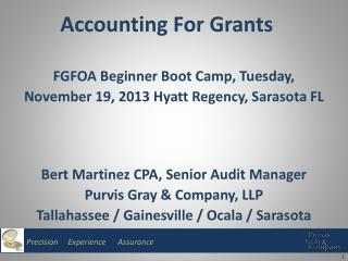 Accounting For Grants