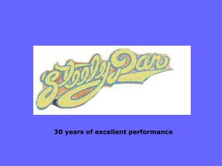 30 years of excellent performance