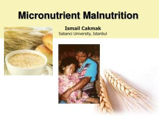 Micronutrient Malnutrition